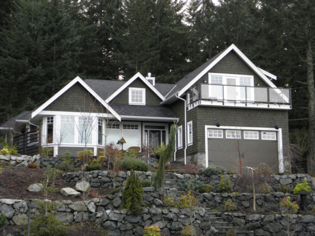 custom homes in the cowichan valley